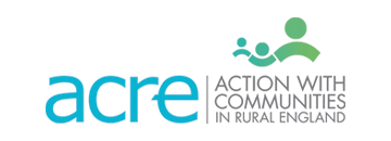 Acre logo one of the Funders for the Kirkby Community Centre