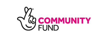 National Lottery Community Fund logo one of the Funders for the Kirkby Community Centre