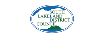 South Lakes District Council logo one of the Funders for the Kirkby Community Centre