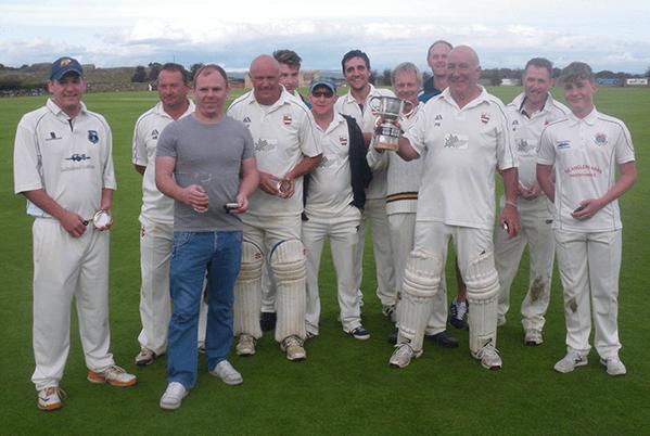 Kirkby Sporting Club Kirkby crocket team group photo